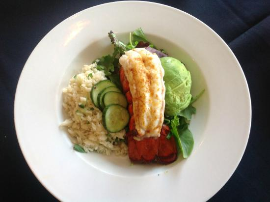 The Lobster Pot Bistro: Gluten Free Lobster Tail Entree