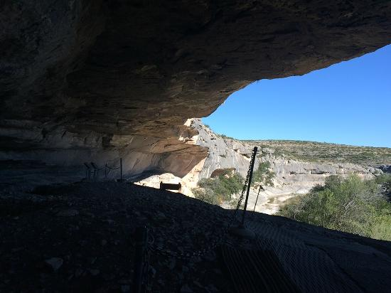 Seminole Canyon State Park and Historic Site: Looking outward