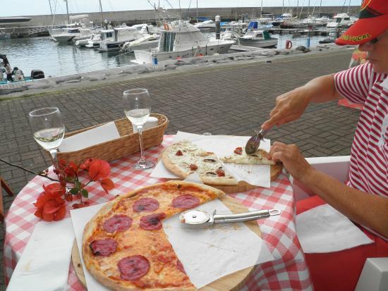 Manifattura Di Gelato: Beste Pizza auf Madeira