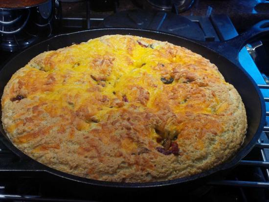 Ranger's Retreat Bed & Breakfast: The omlette