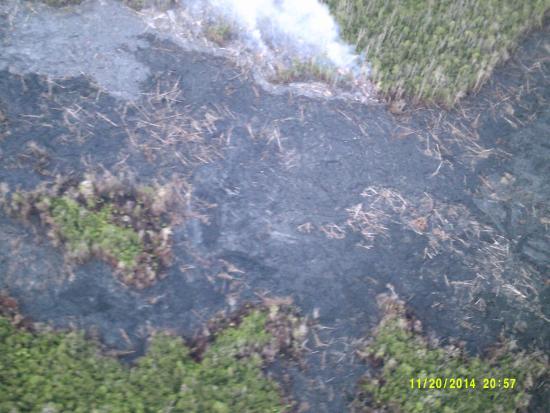 Big Island Air: The firey havoc from lava headed to Pahoa