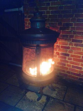 The Dog and Partridge: Lovely outside burners