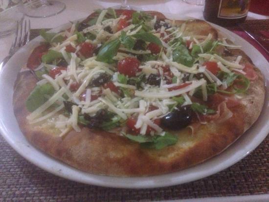 Rosso Pizza: Pizza Crudaiola