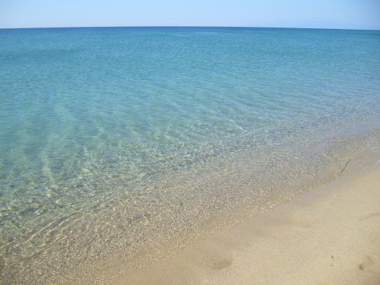 Porto Kaleo Villaggio: acqua trasparente