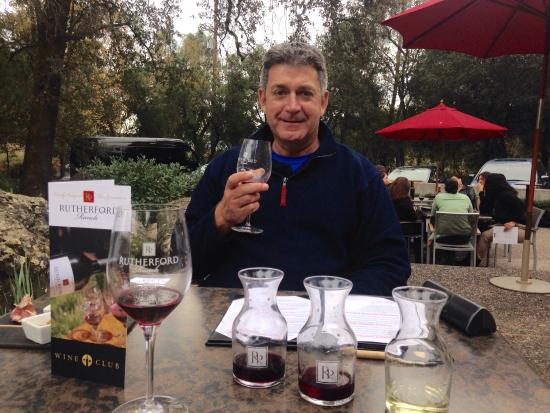 Rutherford Ranch Winery: A tasting of three wines, with cheese, nuts and cold meats for $25 each.