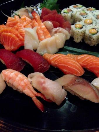 So Restaurant: Choice except Foie Gras sushi