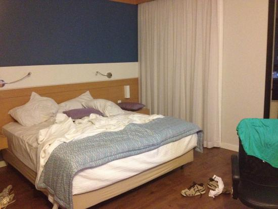 Quality Hotel Faria Lima: Cama queen!