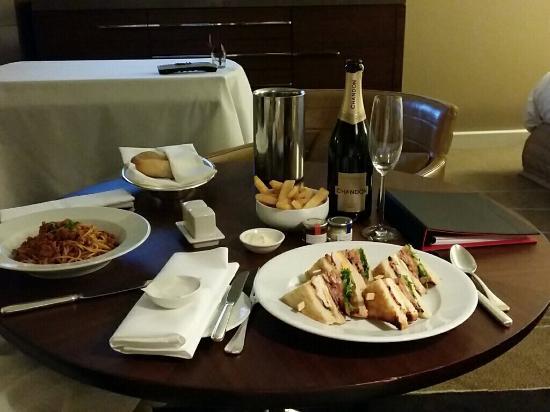 Room Service: Picture Of Grand Hyatt Melbourne