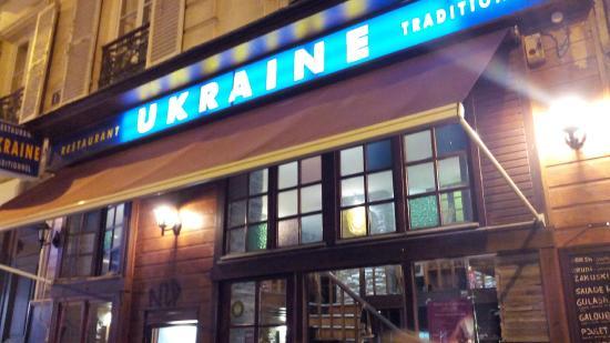 Restaurant Ukraine: La devanture