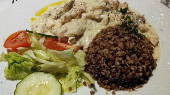 Restaurant Ukraine: Poulet Stroganoff