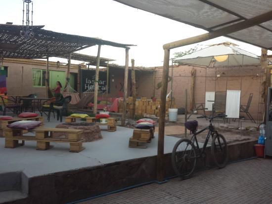 Hostal Laskar: The nice common area
