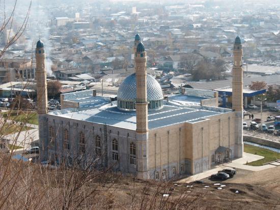 Osh, Republik Kirgizstan: мечеть Тахти-Сулейман