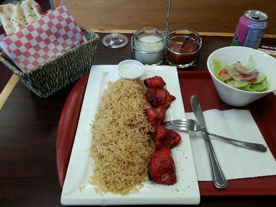 Maimana Naan & Kabab Restaurant: Chicken tandoori kebab...