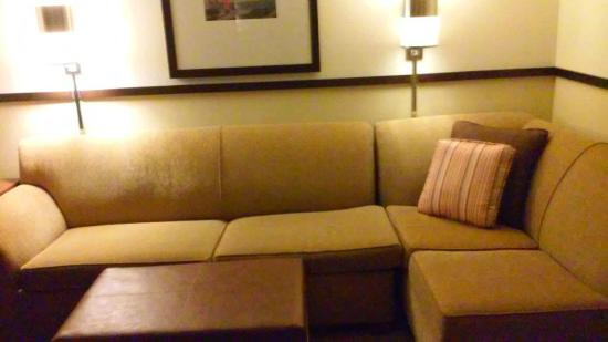 Hyatt Place Richmond/Chester: sleeper sofa
