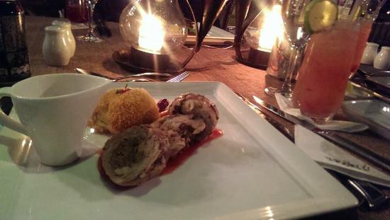 Restaurante Las Velas: The very small turkey main course for Thanksgiving Dinner 2014... really?