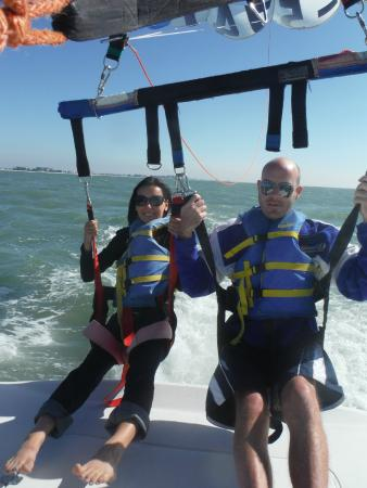 Eagle Parasail: Ready to go!!