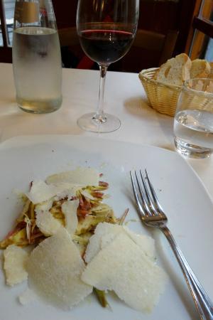 Natalino: The divine artichoke and Parmesan antipasto