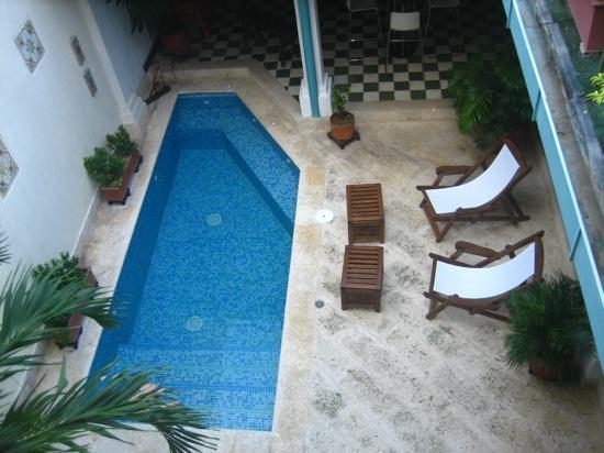 Hotel Casa Amani: Een klein, maar heerlijk badje voor wat verkoeling