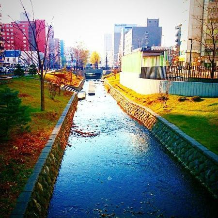 Soseigawa Park : 創成川