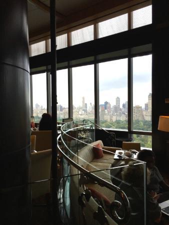 Mandarin Oriental, New York: Lobby lounge