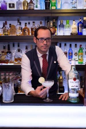 Glace Lounge Bar: Bacardi legacy 2015 @bacardi #bacardilegacy @joseroperolopez @glacecocktails