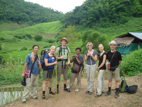 Golden Triangle Tours - Day Tours: Hill tribe Day Trek