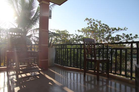 The Siem Reap Central Hostel : バルコニー