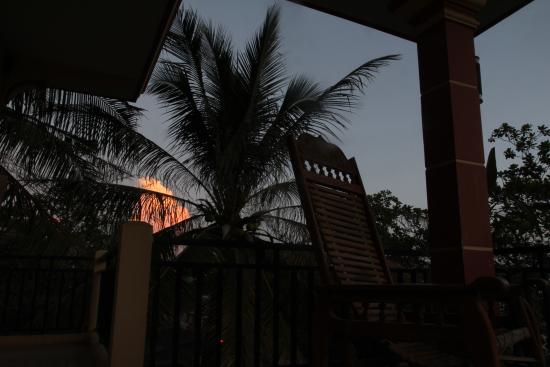 The Siem Reap Central Hostel : 夕方