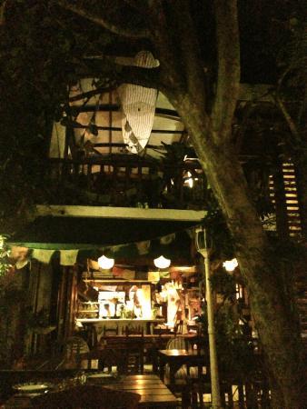 Posada El Canto de la Ballena: View from the dining place