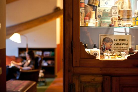 Casa Leonardo: Sala de lectura