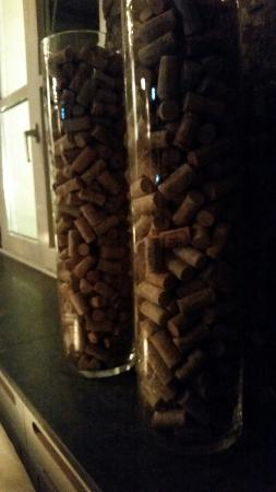 Wijnrestaurant Mes Amis: Just a couple of wine corks