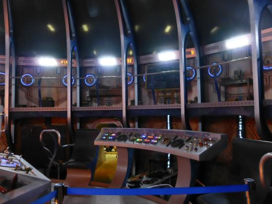 Doctor Who Experience Cardiff Bay: Current Tardis Interior