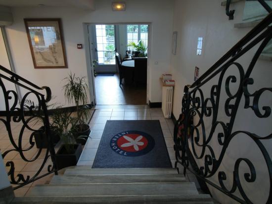 Hotel de la Baie de Morlaix: hall