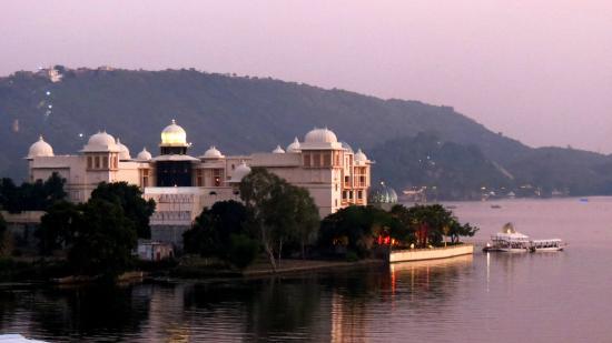Sargam Sadan: leela palace view
