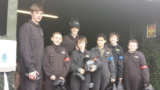 Delta Force Paintball Edinburgh: The A Team