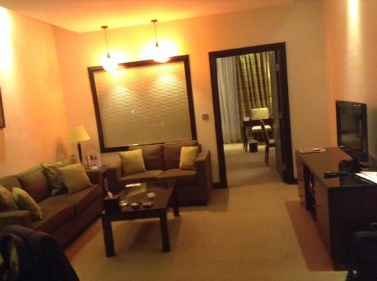Ayass Hotel: seating aera