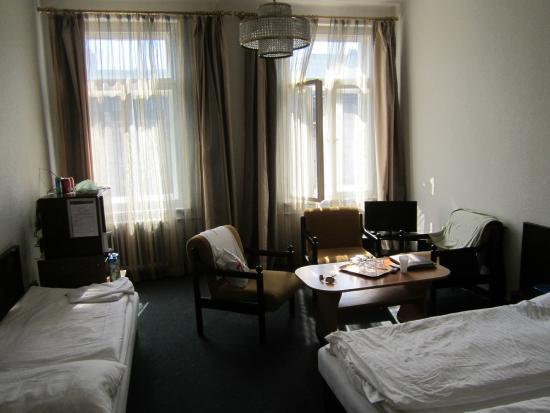Hotel Meran : Номер с дополнительной кроватью