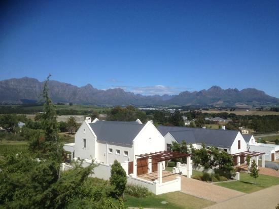 The Wild Mushroom Boutique Hotel: view from Copper Trumpet (room)