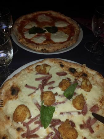 Ristorante Pizzeria Dal Soldino : Pizza D.o.c e Pizza Crocchè