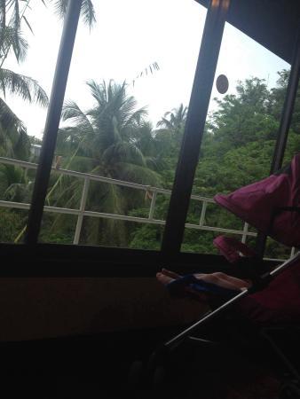 Kata Mountain Inn: Вид из окна номера Делюкс