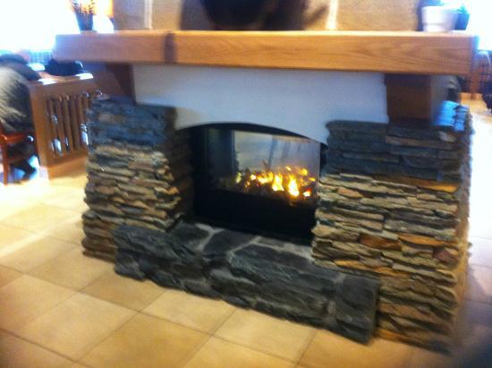 Heinola, Finland: Fireplace