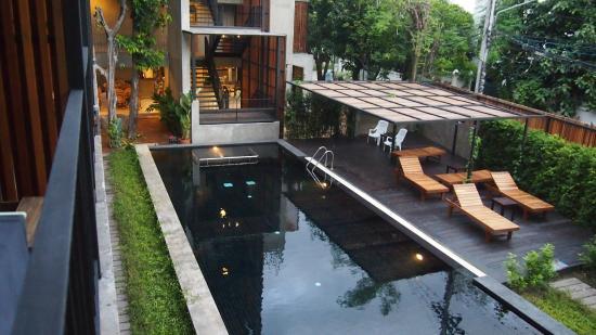 Lamphu House: vu de notre chambre!