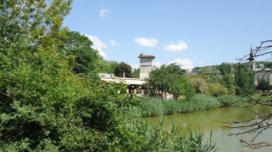 Danubius Hotel Flamenco - Budapest: парк летом