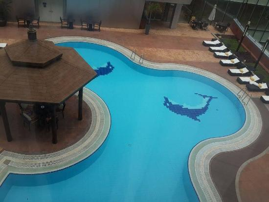 Talatona Convention Hotel : Vista do quarto.