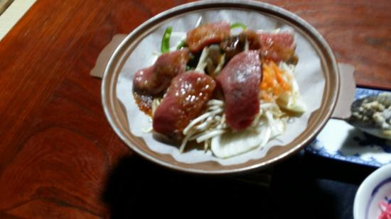 Yokichi: Beef in dinner