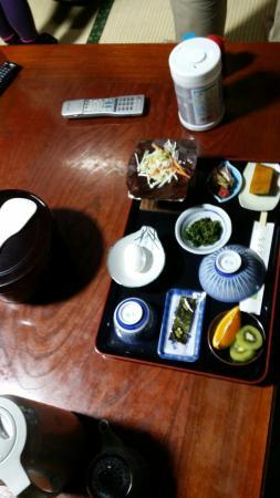 Yokichi: Breakfast with coffee