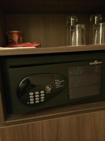 Sheraton Frankfurt Congress Hotel : セキュリティボックス