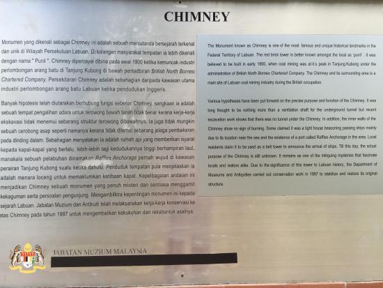 Chimney: A closer look at the description