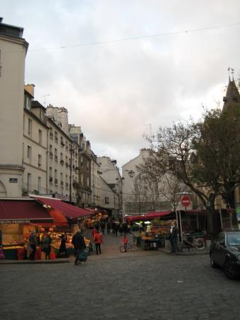 Rue Mouffetard march  Picture of Rue Mouffetard Market Paris