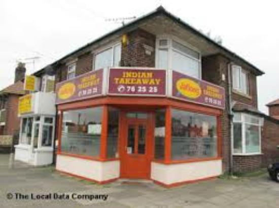 Jaflong Indian Takeaway Blackpool Menu Prices